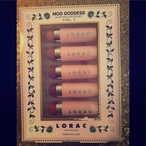 LORAC Lipstick Set Of 5.